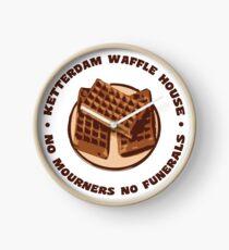 Ketterdam Waffle House Clock