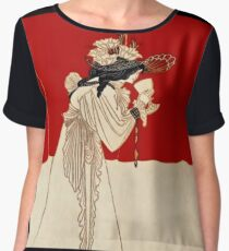"Aubrey Beardsley's Art Nouveau ""Isolde"" Women's Chiffon Top"