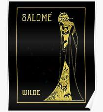 "Aubrey Beardsley's Art Nouveau ""Salome"" Poster"