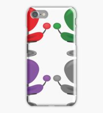 set of modern chairs iPhone Case/Skin