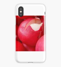A red vegetables iPhone Case/Skin