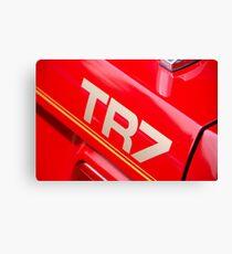 The art of the car: Triumph TR-7 < Canvas Print