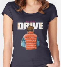 Back to the Future - Drive Women's Fitted Scoop T-Shirt