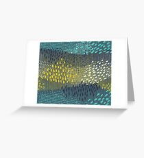 Cosmic Particles by Friztin Greeting Card