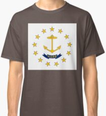Flag of Rhode Island Classic T-Shirt