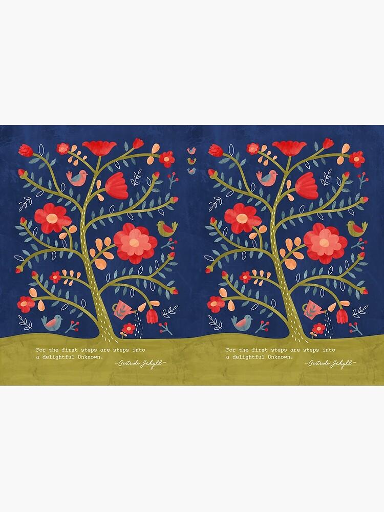 Rose Tree Flower Journal by studiocarrie