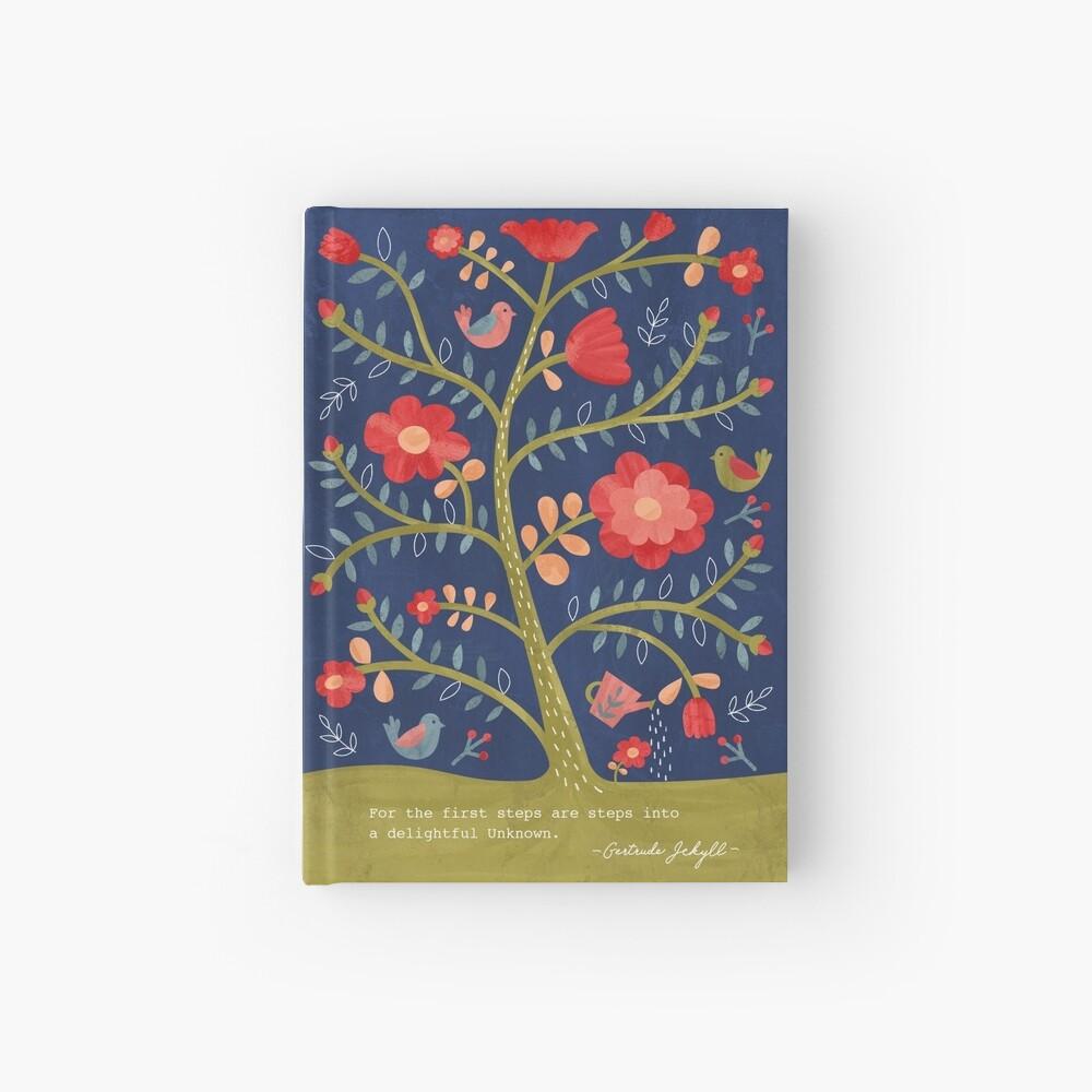 Rose Tree Flower Journal Hardcover Journal