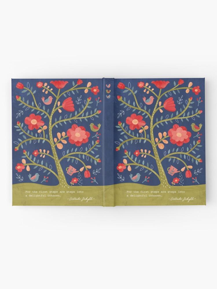 Alternate view of Rose Tree Flower Journal Hardcover Journal
