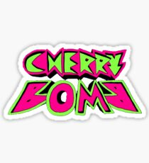 NCT 127 Cherry Bomb Logo Sticker