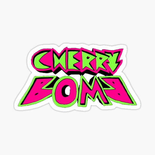 NCT 127 Cherry Bomb Logo Pegatina