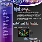 Second Idea For Personal Web Page. by CrazyDistortion