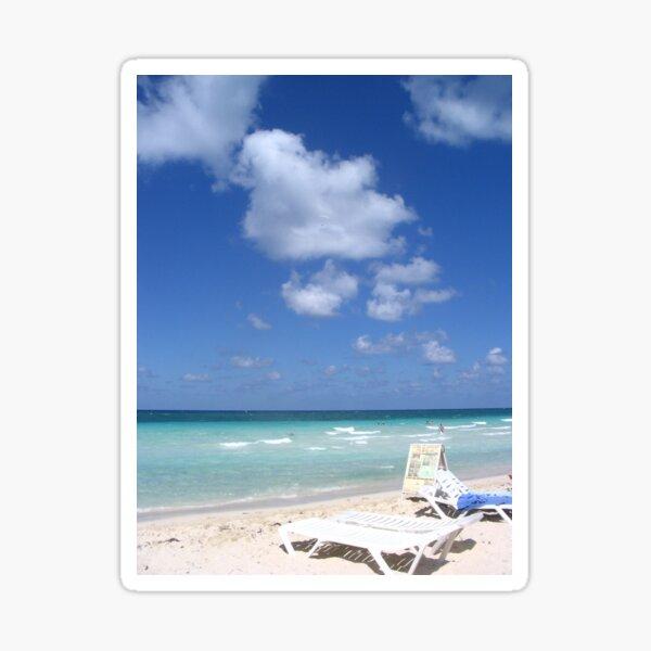 beach dreams Sticker