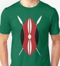 Kenyan Shield Unisex T-Shirt