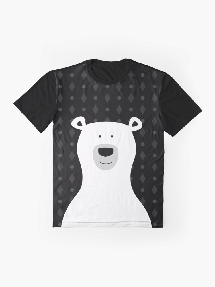 Alternate view of Bear Graphic T-Shirt