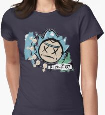 Rick-C137 Womens Fitted T-Shirt
