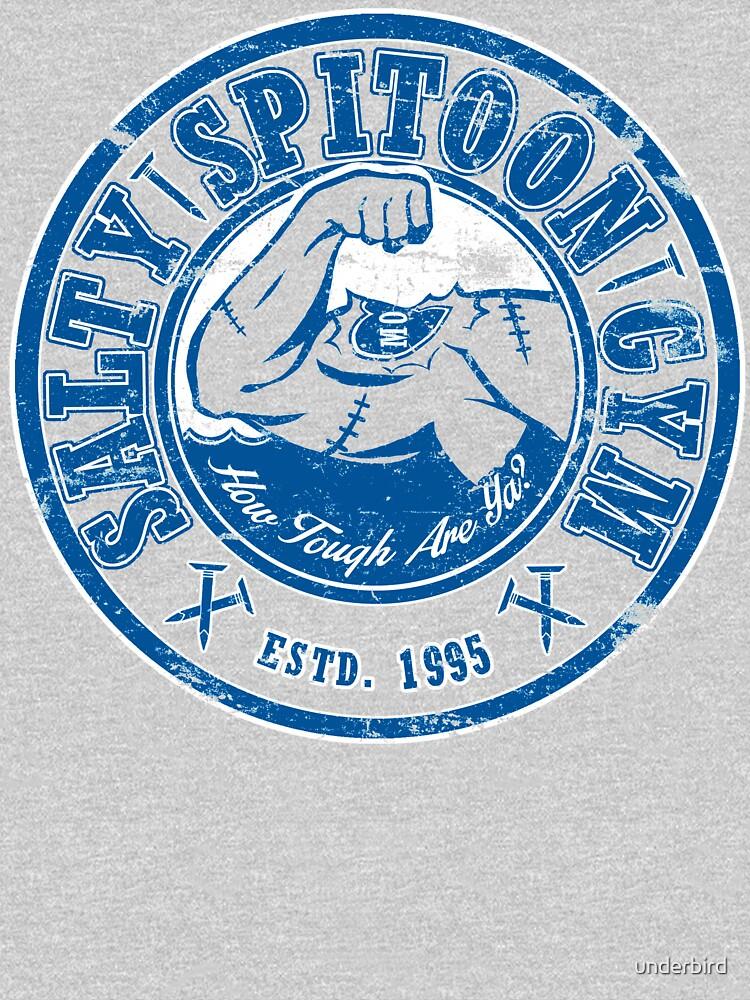 Salty Spitoon Gym- Blue by underbird