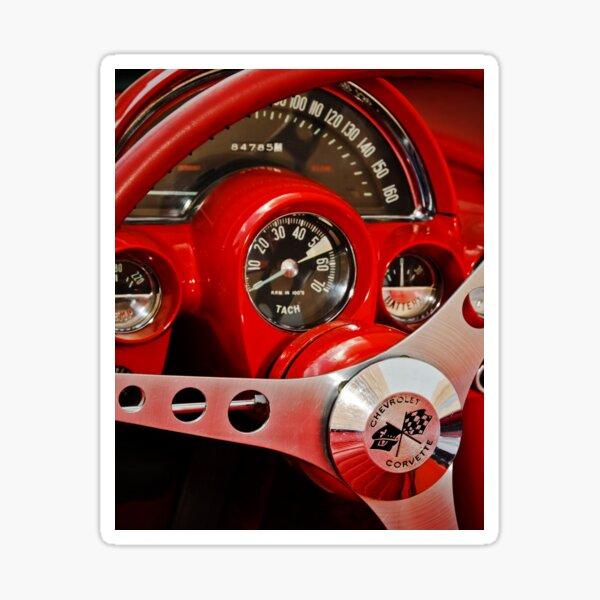 Corvette Dash Sticker