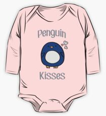 Penguin Kisses  One Piece - Long Sleeve