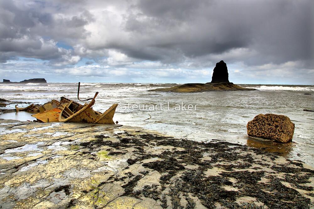 Saltwick Bay Rock Furniture! by Stewart Laker