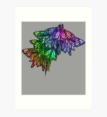 Rainbow Cluster Art Print