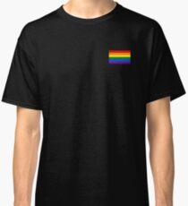 Gay Pride Flag - Minimalist T-Shirt Classic T-Shirt