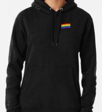 Gay Pride Flag - Minimalist T-Shirt Pullover Hoodie