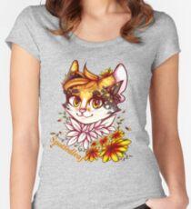 Spottedleaf Krieger Katzen Tailliertes Rundhals-Shirt