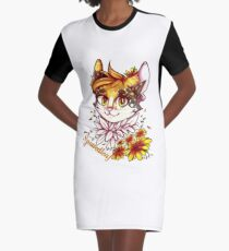 Spottedleaf Warrior Cats Graphic T-Shirt Dress