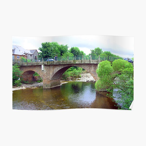 River Ericht bridge Poster
