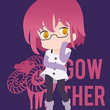 Gowther - Nanatsu no Taizai by GinHans