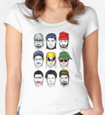 The Faces of H3 H3 Women's Fitted Scoop T-Shirt