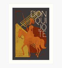 Books Collection: Don Quixote Art Print