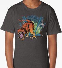 """""""We have a T-rex..."""" Long T-Shirt"""
