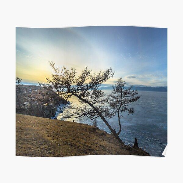 Harsh beauty of lake Baikal Poster