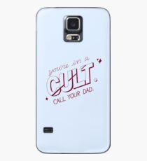 du bist in einem Kult. ruf deinen Vater an. (MFM) Hülle & Klebefolie für Samsung Galaxy