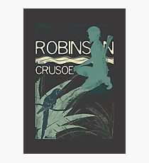 Books Collection: Robinson Crusoe Photographic Print