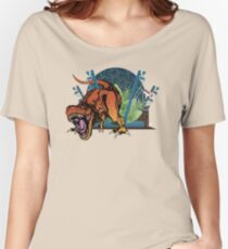 """""""We have a T-rex..."""" Women's Relaxed Fit T-Shirt"""