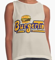 BurgerTime Arcade Logo Contrast Tank