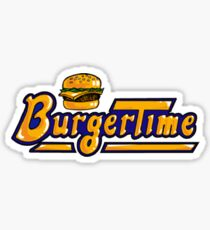 BurgerTime Arcade Logo Sticker