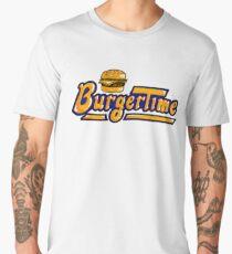 BurgerTime Arcade Logo Men's Premium T-Shirt