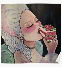 Let them Eat Cake Poster