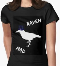 Raven Mad Womens Fitted T-Shirt