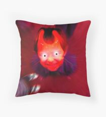 the devil within ... Throw Pillow
