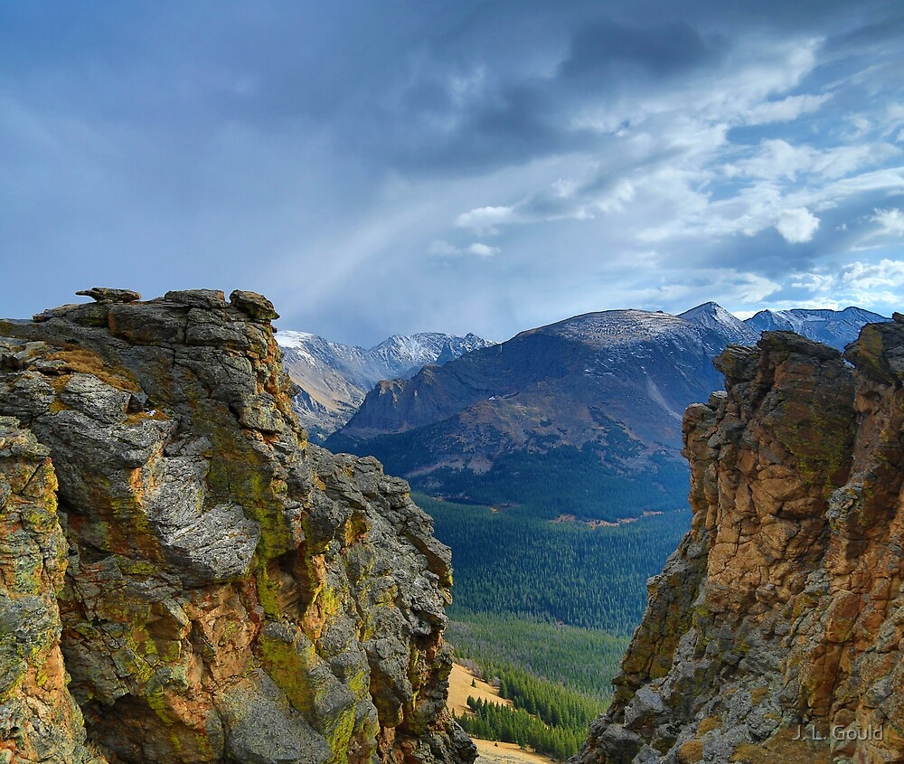 Storm Mountain View by J. L. Gould