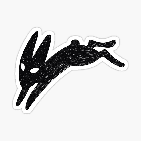 Death bunny Sticker