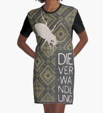 Books Collection: Kafka, The Metamorphosis Graphic T-Shirt Dress