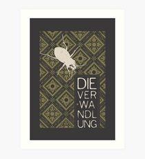 Books Collection: Kafka, The Metamorphosis Art Print