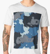 Camouflage Blue Men's Premium T-Shirt