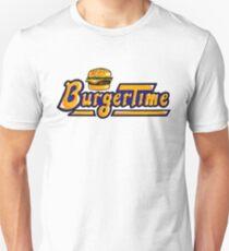 BurgerTime Arcade Logo Unisex T-Shirt