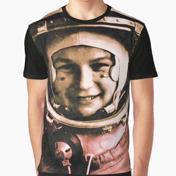 Valentina Tereshkova CCCP 2 Graphic T-Shirt